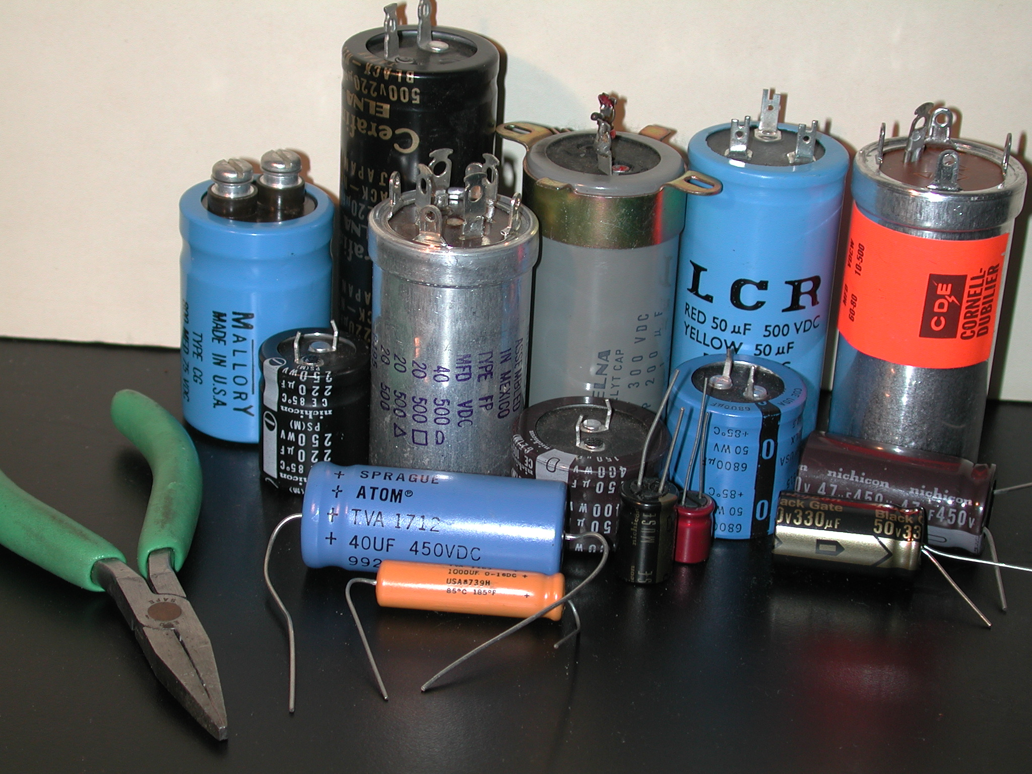 Rap on Replacing Electrolytic Capacitors Squirrel Cage Byp Capacitor Wiring Diagram on