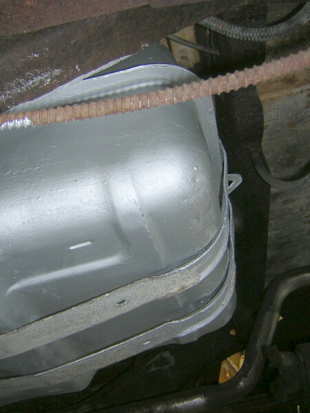 1977 J10 gas tank into a 1985 J truck  and extra in bed tank